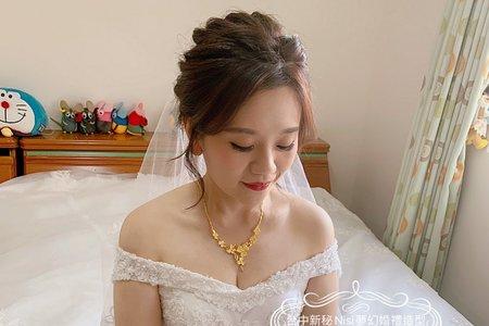 台中新秘Nisi 瑩庭公主結婚造型/結婚髮型/結婚妝髮/新娘造型/新娘髮型/新娘妝髮/白紗造型/白紗妝髮