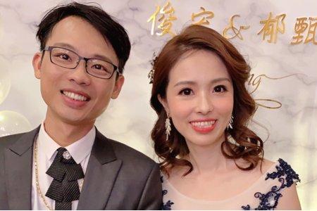 台中新秘Nisi 郁郁公主謝客造型 結婚造型/結婚髮型/結婚妝髮/新娘造型/新娘妝髮