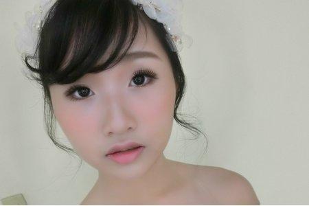 調整眼型/大眼妝/新娘整體造型
