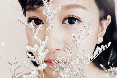 田園風新娘整體造型2/調整眼型/仿真睫毛