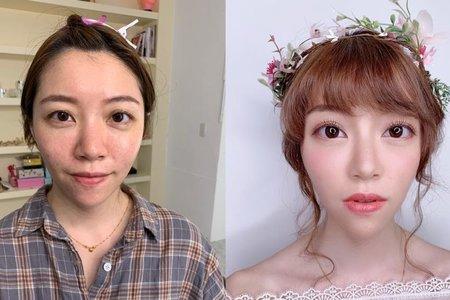 ✨乾淨3D立體的妝容✨