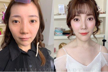 素人改造✖️韓系新娘造型