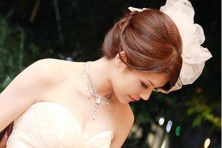 英式貴族復古風格_紗帽.蕾絲