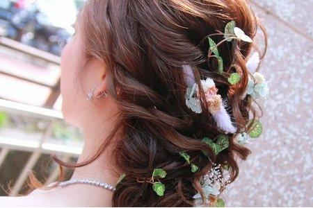 森林系風格☘浪漫法式婚禮
