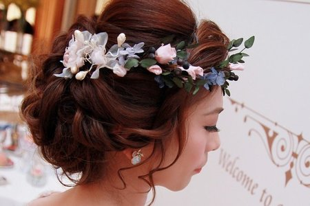嚮往的髮型♥️春夏就是要自然抓絲空氣髮♥️仙氣的頭飾♥️全都是重點
