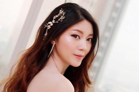誰說新娘盤發是王道❓浪漫披髮仙范儿十足