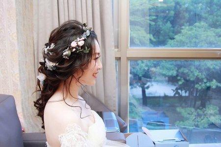 夏日清新唯美的零妝感氧氣妝♥夏季婚禮必爆❗