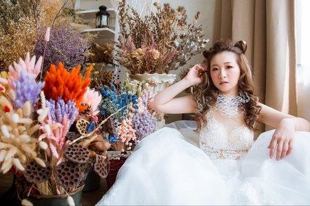 ❤森系多風格新娘髮型打造夢幻新娘氣質❤