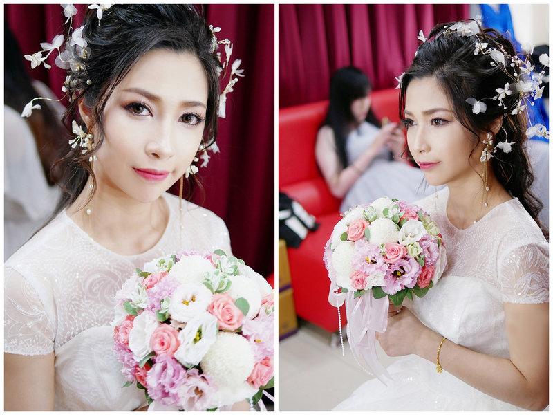 混血妝,亞洲妝容,新娘造型,新秘