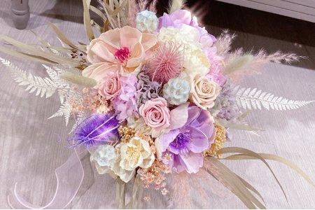 夢幻系婚禮捧花