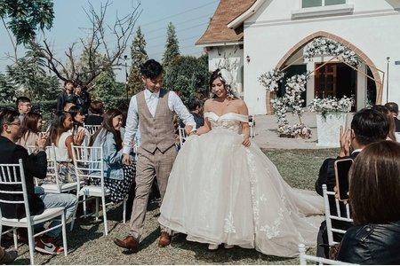 戶外婚禮~唯愛庭園