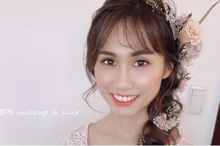 精緻透亮妝容~仙氣感新娘