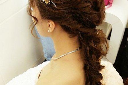 Bride:佩卿韓式髮型