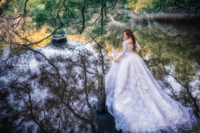 嘉義新秘 嘉義新娘秘書-婚紗接髮造型