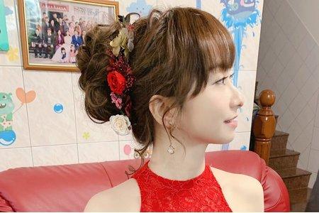 嘉義新娘秘書嘉義新娘秘書東石新娘小英純宴客單妝造型