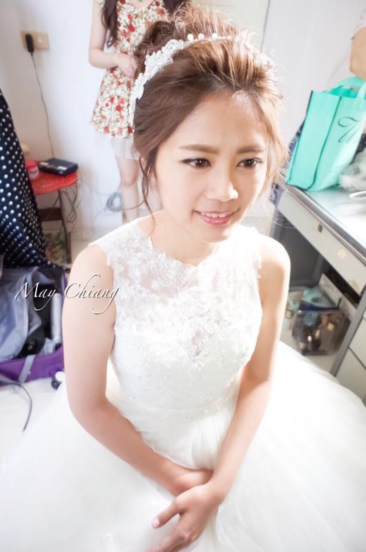 台南新秘韓系經典高盤造型 - 育珊(編號:241683) - 新秘采紋《結婚吧》