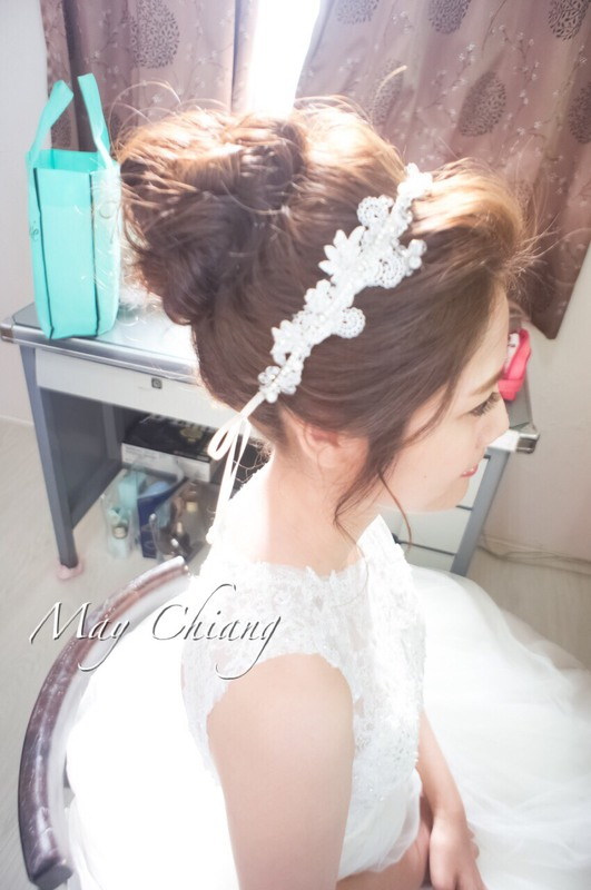 台南新秘韓系經典高盤造型 - 育珊(編號:241703) - 新秘采紋《結婚吧》