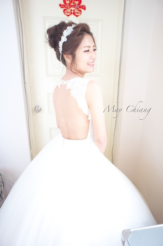台南新秘韓系經典高盤造型 - 育珊(編號:241709) - 新秘采紋《結婚吧》