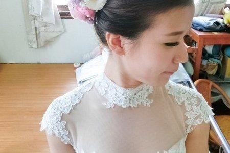 台南新秘鮮花造型 - 嘉雋