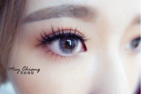 高雄新秘經典高盤+花藝造型 - 嘉芸