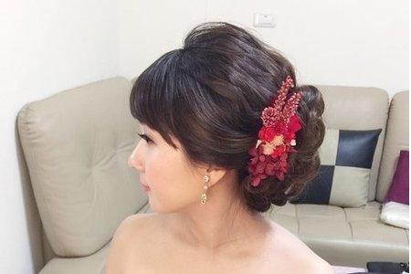 新娘點點-甜美、夢幻、公主造型