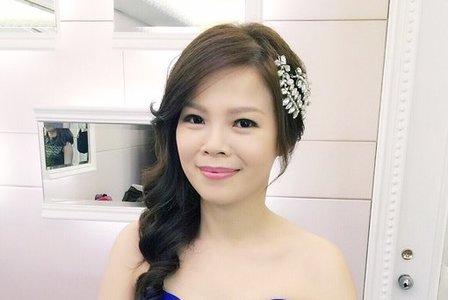 新娘小倩-高雅、氣質、自然妝感