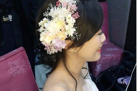 新娘雅惠-歐式、仙女、不凋花造型