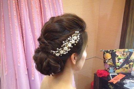 新娘IRIS-韓式、氣質、編髮造型