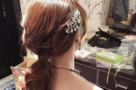 新娘雅婷-優雅、甜美、韓式造型