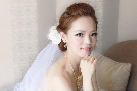 新娘筱容-華麗、編髮、女神造型