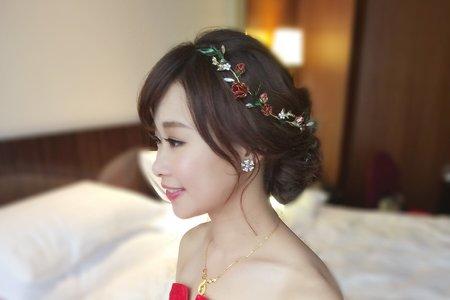 氣質公主鈺錡-婚禮造型
