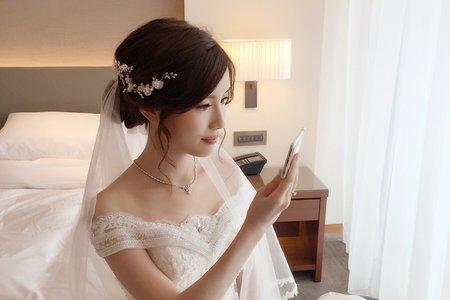 新秘Milly 新娘儀式宴客造型妝髮