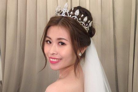 青青時尚花園 好媳婦盤髮+浪漫證婚+公主白紗