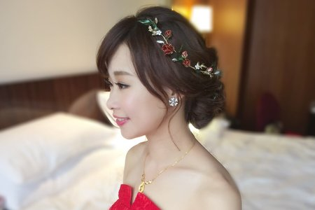 台北遠企香格里拉 氣質公主鈺錡-婚禮造型