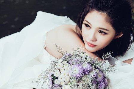 婚紗攝影造型~娃娃大眼妝