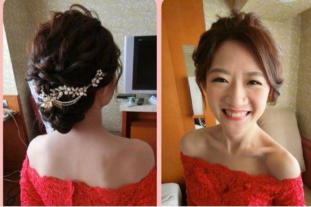 粗硬髮新娘訂婚