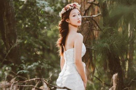 森林系的女孩兒