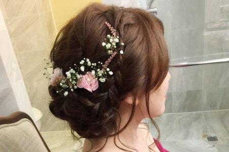 晶華飯店婚宴~{鮮花造型}
