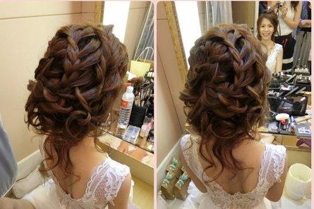 最愛編髮造型