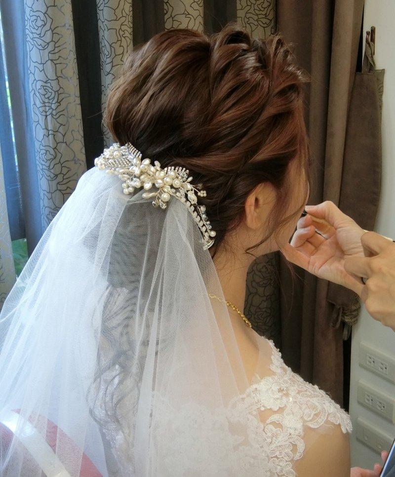 訂婚  結婚 宴客造型作品