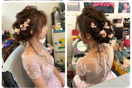 細軟髮新娘造型
