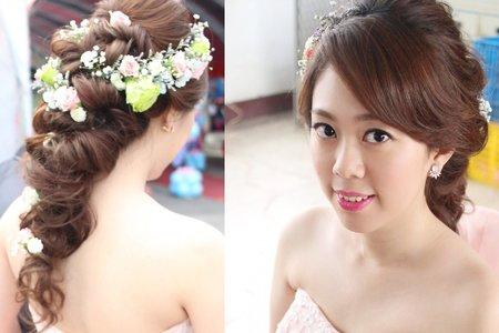 [wedding]-甜美新娘雯娟