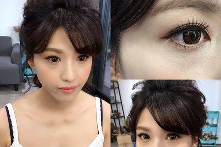 Sara Makeup stylist/妝感 眼型調整