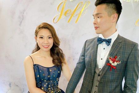 訂婚/結婚/午宴/5造型/青青時尚花園-雅婷