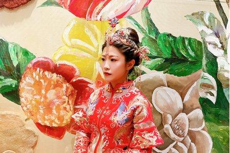 秀和服/龍鳳掛/中式婚禮