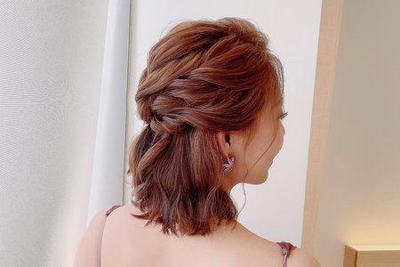 短髮造型/優雅氣質/時尚/韓系/自然清透