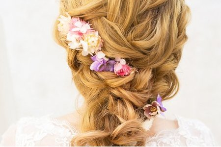 新娘編髮造型