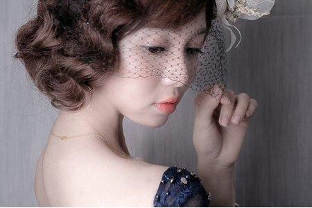 頭紗造型~晚禮服