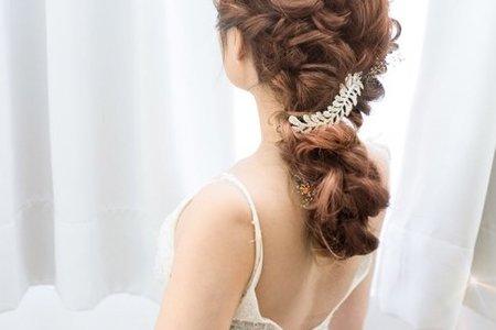新娘造型~空氣感編髮