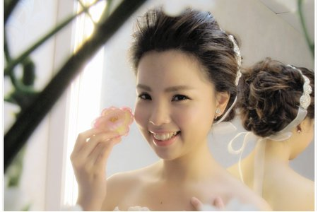 空氣感 婚紗造型